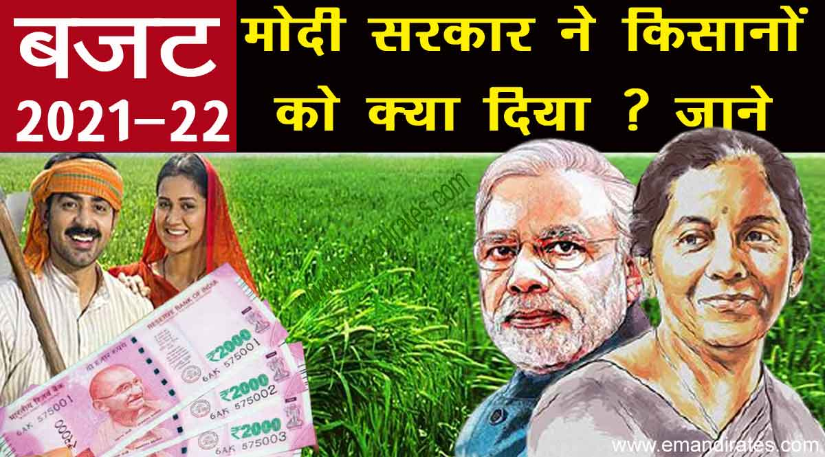 Budget 2021-22: बजट में किसानों को क्या लाभ मिला ? आइये जाने