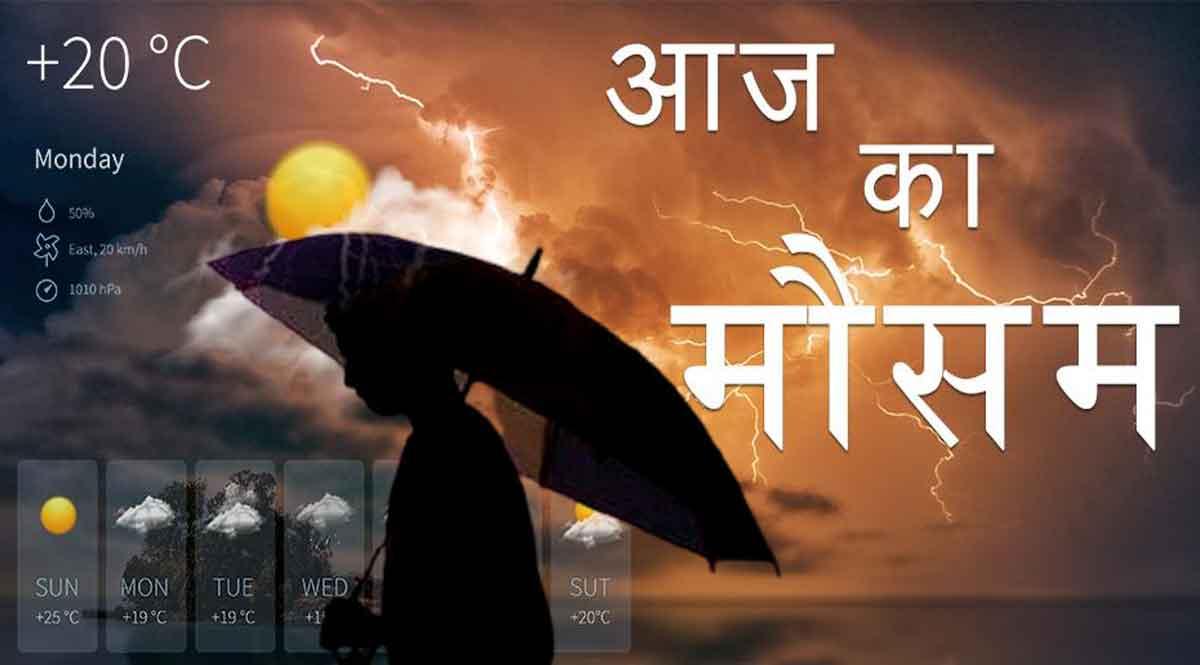 मौसम की जानकारी: उत्तर व मध्य भारत मे आज से शुरू होगा प्री-मॉनसून की बरसात का दौर
