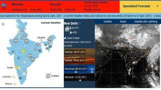 मौसम पूर्वानुमान 06 अप्रैल से 12 अप्रैल 2021