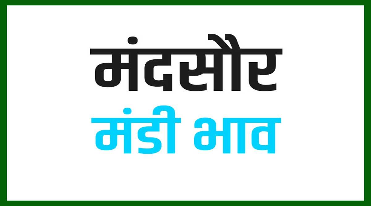 Mandsaur Mandi Bhav Today 2021